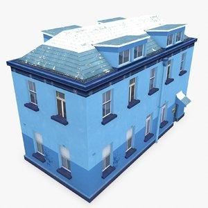 3d photorealistic building apartment 10