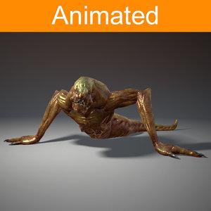 character creature creepy 3d x