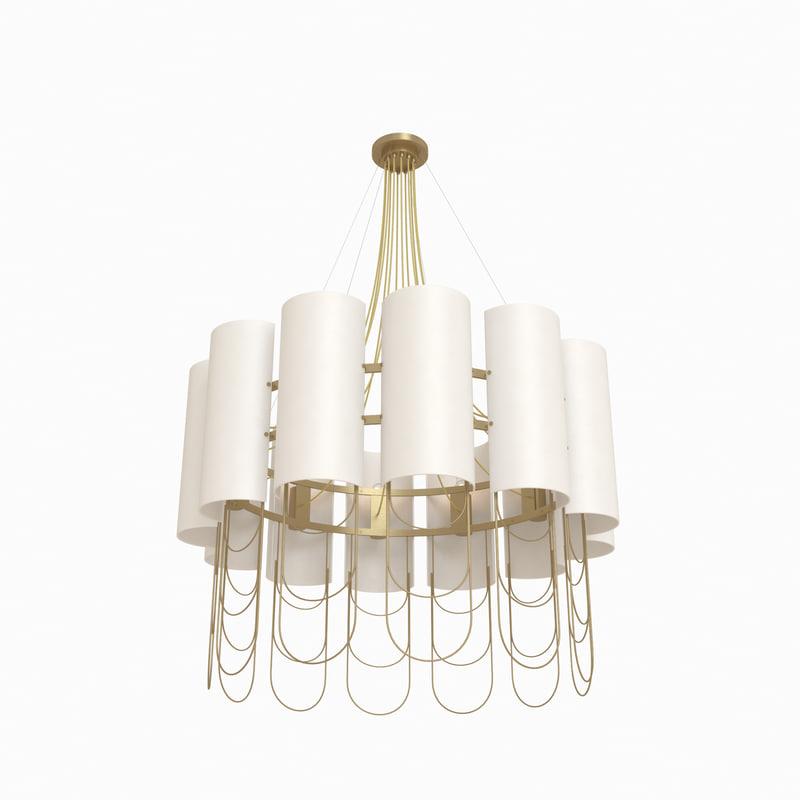 3d niagara suspension lamp ginger