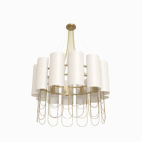 3d niagara suspension lamp ginger