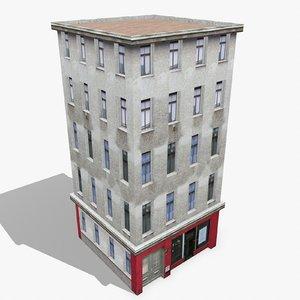 3d model photorealistic building apartment 11