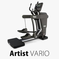 artist vario technogym 3d max