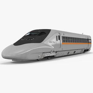 bullet train locomotive rail max