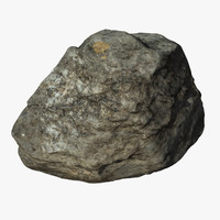 3d model of rock scan