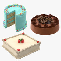 Birthday Cakes Collection 02