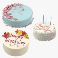 3d birthday cakes