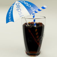 3ds pepsi cup ice