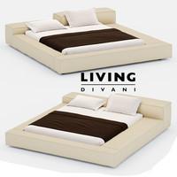 3d bed extrasoft model