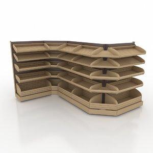 3d bread racks