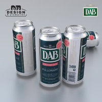 3d beer dab model