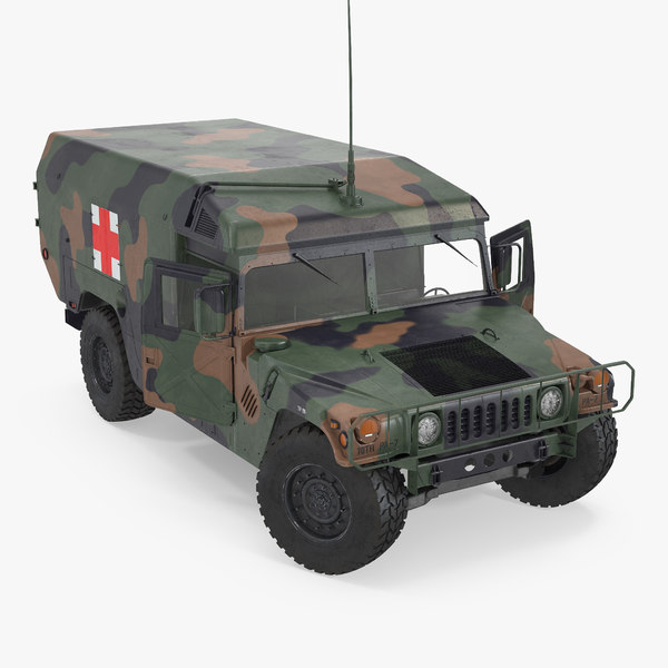 max mini ambulance military car