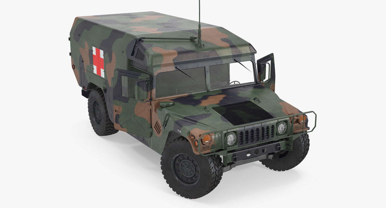 max mini ambulance military car