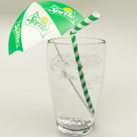 Sprite Cup With Ice