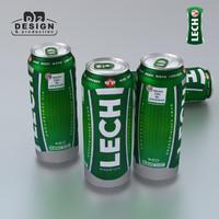 beer lech 3d model