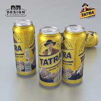 beer tatra 3d max