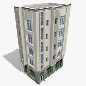 photorealistic building apartment 12 3d model