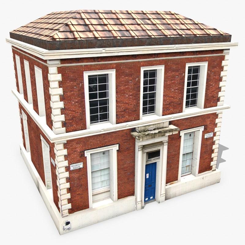 3d model photorealistic building apartment 13