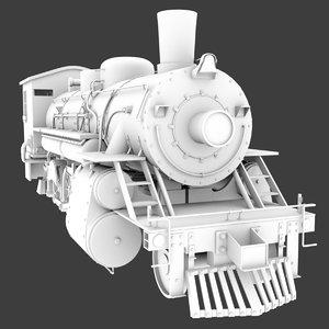 steam train 3d ma