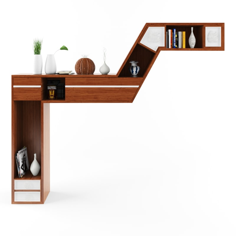 modern home library max