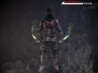 assassin rigged 3d obj