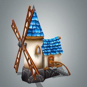 fantasy house 1 3d model