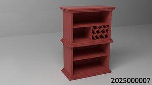 elegant shelf 3d max