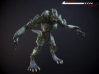 max alien beast rigged