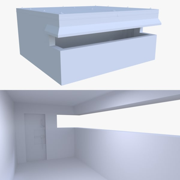 bunker blender post fbx