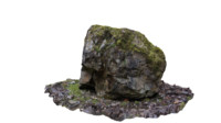 stone forest 3d obj