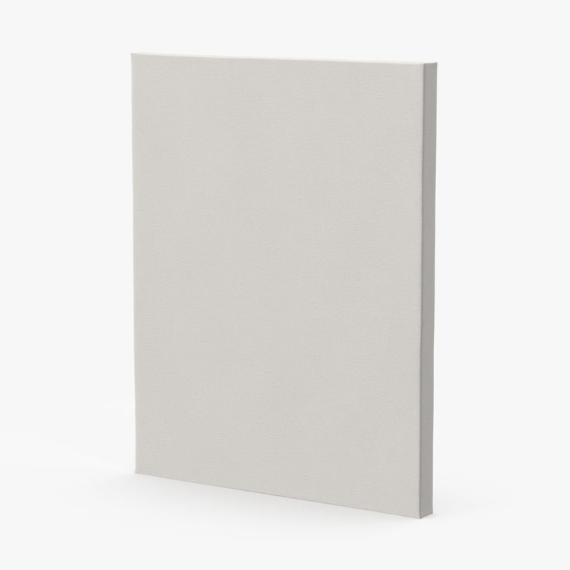 blank canvases 11x14 - 3d max