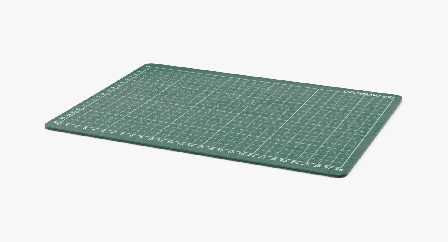 cutting mat 3d max