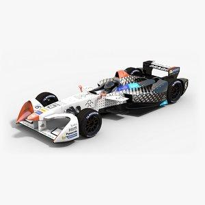 faraday future dragon racing 3d model