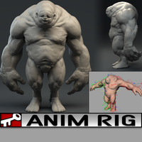 3d ma rig 2014 animation
