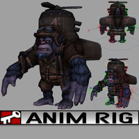 3d rig 2014 animation model