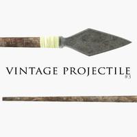 Vintage Projectile #3
