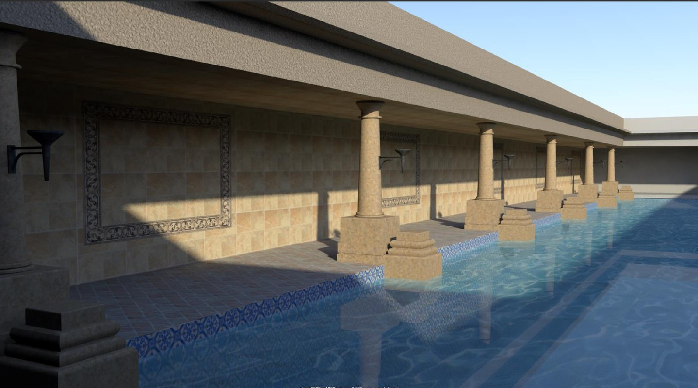 roman bath house x