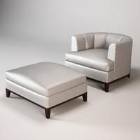 baker armchair chair max