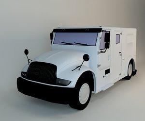 truck jeep 3d model