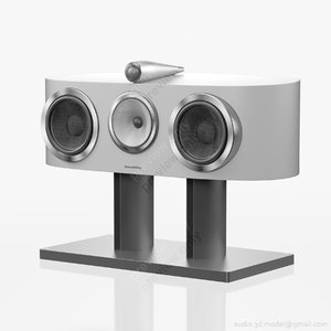 central bowers wilkins htm1 3d model