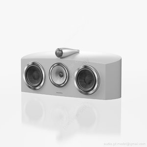 central bowers wilkins htm2 3d max