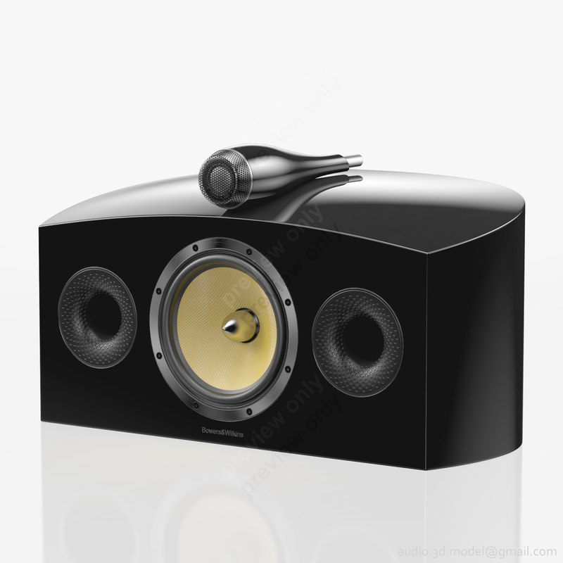 central bowers wilkins htm4 3d ma