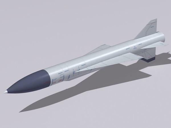 kh-22 missile 3ds