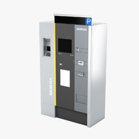 pay machine 3d model