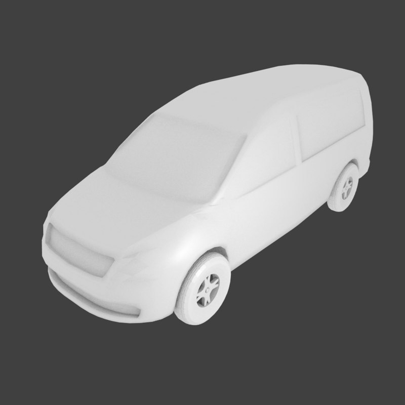 simple car 3ds free