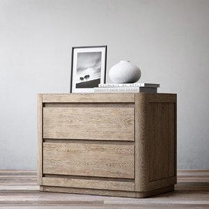 3d model martens 30in closed nightstand