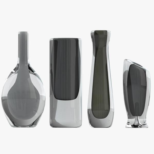 vases 01 3d model