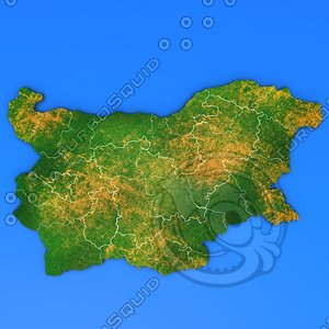 3d bulgaria country