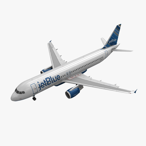 airbus a320 jetblue animation max