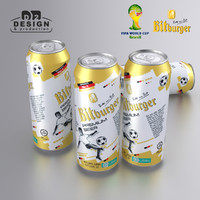 bitburger wc brazil edition 3d max