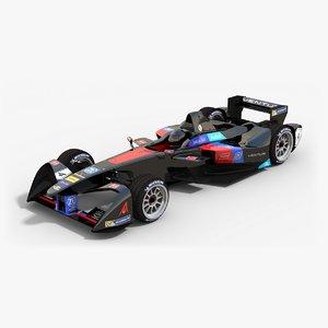 venturi racing formula e 3d max